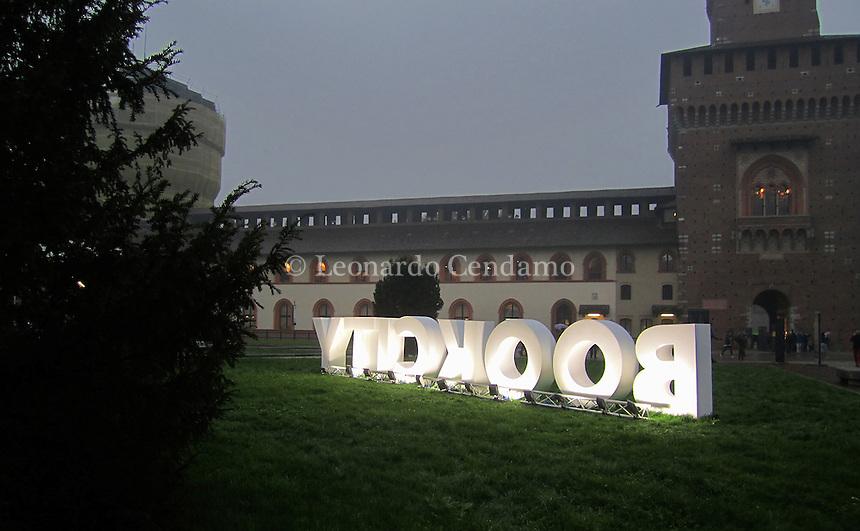 Bookciti Milano evento letterario. Novembre 2016. © Leonardo Cendamo