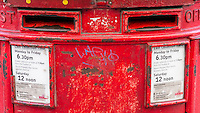 Red Post Box - May 2014.