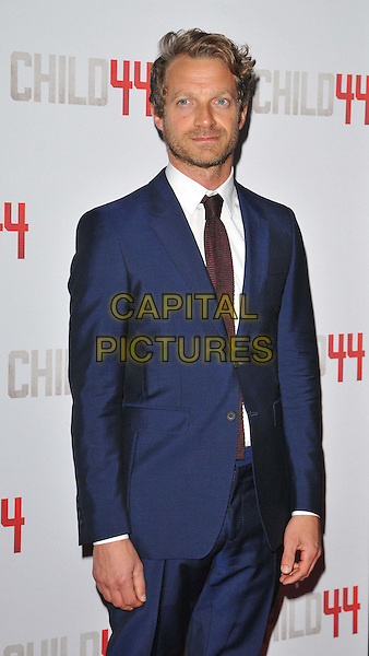 LONDON, ENGLAND - APRIL 16: Tom Rob Smith attends the &quot;Child 44&quot; UK film premiere, Vue West End cinema, Leicester Square, on Thursday April 16, 2015 in London, England, UK. <br /> CAP/CAN<br /> &copy;Can Nguyen/Capital Pictures