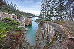 Ravens Roost at Schoodic Point in Acadia National Park, Maine, USA