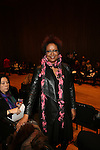 Harriette Cole-Front Row-Mercedes Benz Fashion Week Douglas Hannant Fall 2013, NY 2/13/13