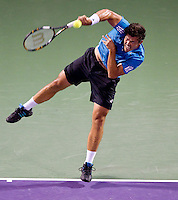 Taylor DENT (USA) against Rafael NADAL (ESP) in the second round of the men's singles. Nadal beat Dent 6-4 6-3..International Tennis - 2010 ATP World Tour - Sony Ericsson Open - Crandon Park Tennis Center - Key Biscayne - Miami - Florida - USA - Fri 26 Mar 2010..© Frey - Amn Images, Level 1, Barry House, 20-22 Worple Road, London, SW19 4DH, UK .Tel - +44 20 8947 0100.Fax -+44 20 8947 0117