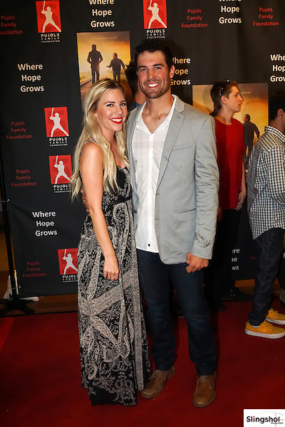 Robbie Ray walks the red carpet as the Pujols Family Foundation hosts a benefit screening of WHERE HOPE GROWS, raising funds for quality programming for the families with individuals living with Down syndrome.