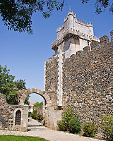 Castelo and Roman arch, Beja, Portugal
