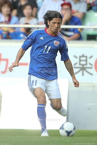Takayuki Suzuki, .JULY 16, 2012 - Football / Soccer : Tsuneyasu Miyamoto Testimonial match between Tsune Friends VS Vissel Kobe Friends VS Gamba Friends at Home's Stadium Kobe in Hyogo, Japan. (Photo by Akihiro Sugimoto/AFLO SPORT) [1080]