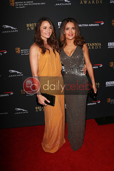 Mia Maestro, Salma Hayek<br />