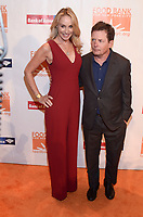 NEW YORK, NY - APRIL 19: Tracy Pollan and Michael J. Fox attend the Food Bank for New York City Can Do Awards on Wednesday, April 19, 2017 at Cipriani, Wall Street in New York City. <br /> CAP/MPI/RH<br /> &copy;RH/MPI/Capital Pictures