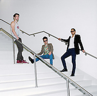 Rap Genius creators Ilan Zechory, 28, Tom Lehman, 28, and Mahbod Moghadam, 29, at their headquarters in Williamsburg. ..Danny Ghitis for The New York Times