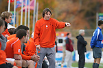 12 November 2008: Clemson assistant coach Phil Hindson. Boston College defeated Clemson University 1-0 in the second sudden-victory overtime period at Koka Booth Stadium at WakeMed Soccer Park in Cary, NC in a men's ACC tournament quarterfinal game.
