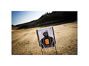 "Target practice for veterans of the wars in Iraq and Afganistan, Long Island, New York, 2006 | Jeremy M. Lange | $350 | Limited Edition 2 of 7 | Print - 20x24"" Light Jet Fuji Crystal Archive, lustre 