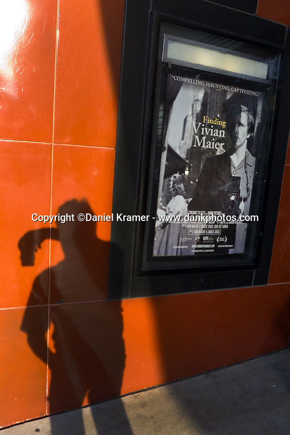 Opening Day of the Vivian Maier film at River Oaks Theatre in Houston. 2014