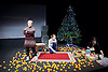 Belarus Free Theatre<br /> Time of Women by Nicolai Khalezin and Natalia Kaliada<br /> at The Young Vic Theatre, London, Great Britain <br /> press photocall <br /> 9th November 2015 <br /> <br /> Maryna Yurevich<br /> <br /> Maryia Sazonava<br /> <br /> Yana Rusakevich<br /> <br /> <br /> Photograph by Elliott Franks <br /> Image licensed to Elliott Franks Photography Services