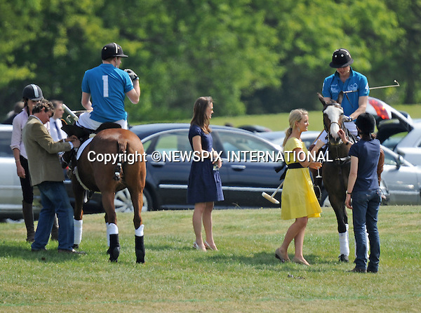 "PRINCES WILLIAM, HARRY AND KATE MIDDLETON.at the Audi Challenge Polo, Windsor_10/05/2009.Also present was Pippa Middleton (Kate's sister) and another blonde...**ALL FEES PAYABLE TO: ""NEWSPIX INTERNATIONAL""**..PHOTO CREDIT MANDATORY!!: NEWSPIX INTERNATIONAL(Failure to credit will incur a surcharge of 100% of reproduction fees)..IMMEDIATE CONFIRMATION OF USAGE REQUIRED:.Newspix International, 31 Chinnery Hill, Bishop's Stortford, ENGLAND CM23 3PS.Tel:+441279 324672  ; Fax: +441279656877.Mobile:  0777568 1153.e-mail: info@newspixinternational.co.uk"