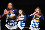 Sorority and fraternity students participate in Greek Sing, a philanthropical event which raises money for the Make-a-Wish Foundation in Lexington, Ky. Photo by Emily Wuetcher | Staff..