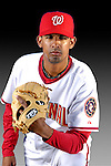25 February 2007: Washington Nationals pitcher Winston Abreu poses for his Photo Day portrait at Space Coast Stadium in Viera, Florida.<br /> <br /> Mandatory Photo Credit: Ed Wolfstein Photo<br /> <br /> Note: This image is available in a RAW (NEF) File Format - contact Photographer.
