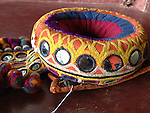 ATK-455 ANTIQUE KUTCH INDHONI CUSHION