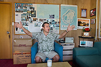 "Sean Oppenheimer, the most successfull businessman on the island. Owner of the ""Cappele"" supermarket (the biggest supermarket on the island), his Irish father started the business with his Nauruan mother in the 60's...Nauru, officially the Republic of Nauru is an island nation in Micronesia in the South Pacific.  Nauru was declared independent in 1968 and it is the world's smallest independent republic, covering just 21 square kilometers..Nauru is a phosphate rock island and its economy depends almost entirely on the phosphate deposits that originate from the droppings of sea birds. Following its exploitation it briefly boasted the highest per-capita income enjoyed by any sovereign state in the world during the late 1960s and early 1970s..In the 1990s, when the phosphate reserves were partly exhausted the government resorted to unusual measures. Nauru briefly became a tax haven and illegal money laundering centre. From 2001 to 2008, it accepted aid from the Australian government in exchange for housing a Nauru detention centre, with refugees from various countries including Afghanistan and Iraq..Most necessities are imported on the island..Nauru has parliamentary system of government. It had 17 changes of administration between 1989 and 2003. In December 2007, former weight lifting medallist Marcus Stephen became the President."