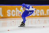 SCHAATSEN: HEERENVEEN: 25-10-2014, IJsstadion Thialf, Trainingswedstrijd schaatsen, Jorien Voorhuis, ©foto Martin de Jong