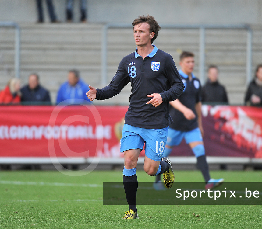 Belgium U19 - England U19 : John Swift.foto DAVID CATRY / Nikonpro.be