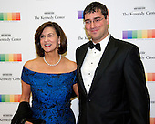 Victoria Reggie Kennedy and guest arrive for the formal Artist's Dinner honoring the recipients of the 39th Annual Kennedy Center Honors hosted by United States Secretary of State John F. Kerry at the U.S. Department of State in Washington, D.C. on Saturday, December 3, 2016. The 2016 honorees are: Argentine pianist Martha Argerich; rock band the Eagles; screen and stage actor Al Pacino; gospel and blues singer Mavis Staples; and musician James Taylor.<br /> Credit: Ron Sachs / Pool via CNP