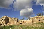 Khirbet Qeiyafa overlooking the Elah Valley, site of Biblical Shaaraim