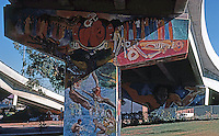 San Diego: Chicano Park Murals. Photo '87.
