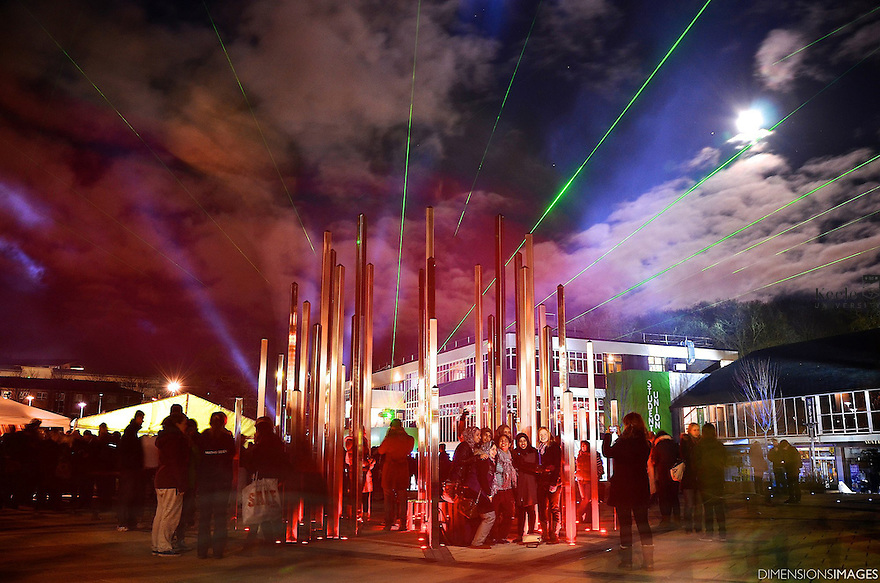 Official Opening  of Union Square & Forest of Light