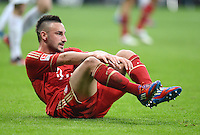 FUSSBALL   1. BUNDESLIGA  SAISON 2011/2012   31. Spieltag FC Bayern Muenchen - FSV Mainz 05       14.04.2012 Diego Contento (FC Bayern Muenchen)