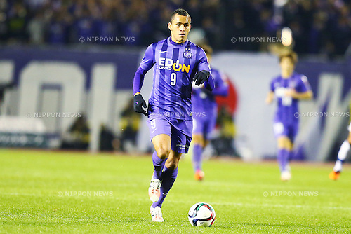 Douglas (Sanfrecce),<br /> DECEMBER 5, 2015 - Football / Soccer : <br /> 2015 J.League Championship Final 2nd leg match<br /> between Sanfrecce Hiroshima - Gamba Osaka<br /> at Hiroshima Big Arch in Hiroshima, Japan.<br /> (Photo by Shingo Ito/AFLO SPORT)