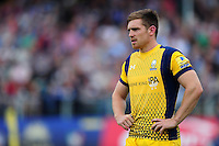 Tom Heathcote of Worcester Warriors looks on during a break in play. Aviva Premiership match, between Bath Rugby and Worcester Warriors on September 17, 2016 at the Recreation Ground in Bath, England. Photo by: Patrick Khachfe / Onside Images