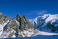 Twaharpies mountains, Twaharpies glacier, Wrangell St. Elias National Park, Alaska.
