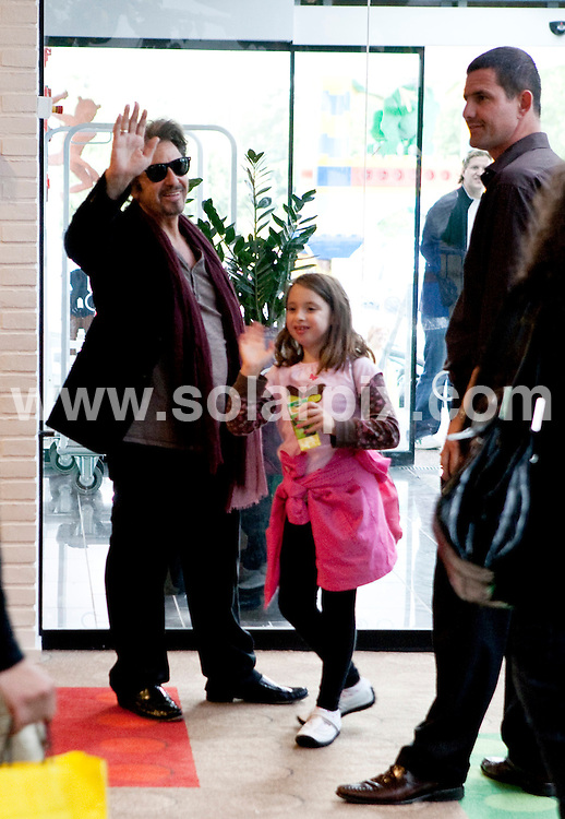 **ALL ROUND PICTURES FROM SOLARPIX.COM**.**SYNDICATION RIGHTS FOR UK AND SPAIN ONLY**.Al Pacino and his two twin daughters visiting Legoland, Billund, Denmark where they stayed at Hotel Legoland. .Denmark. 20 July 2009..This pic: Al Pacino..JOB REF: 9546 CPR (tausen/kristiansen)  .DATE: 20_07_2009.**MUST CREDIT SOLARPIX.COM OR DOUBLE FEE WILL BE CHARGED**.**ONLINE USAGE FEE GBP 50.00 PER PICTURE - NOTIFICATION OF USAGE TO PHOTO @ SOLARPIX.COM**.**CALL SOLARPIX : +34 952 811 768 or LOW RATE FROM UK 0844 617 7637**