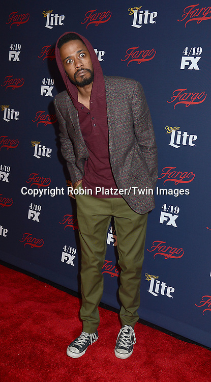 Lakeith Stanfield attends FX's 2017 All-Star Upfront on  April 6, 2017 at SVA Theater in New York, New York, USA. <br /> <br /> photo by Robin Platzer/Twin Images<br />  <br /> phone number 212-935-0770