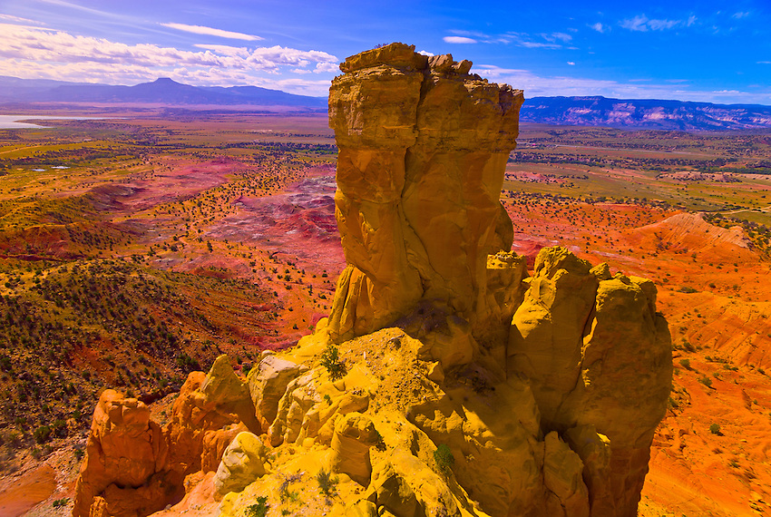Chimney Rock, Ghost Ranch, Abiquiu, New Mexico