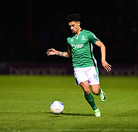 Lincoln City's Josh Ginnelly<br /> <br /> Photographer Andrew Vaughan/CameraSport<br /> <br /> The Buildbase FA Trophy Semi-Final First Leg - York City v Lincoln City - Tuesday 14th March 2017 - Bootham Crescent - York<br />  <br /> World Copyright &copy; 2017 CameraSport. All rights reserved. 43 Linden Ave. Countesthorpe. Leicester. England. LE8 5PG - Tel: +44 (0) 116 277 4147 - admin@camerasport.com - www.camerasport.com
