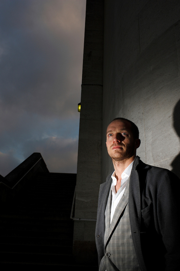 Photo: © Martin Beddall/ 2007..Portrait of Tom Rob Smith, first-time author of the thriller novel set in the Soviet Union, ' Child 44 ' who gained a $1M advance and the movie rights to the novel have been bought by the director Ridley Scott..Photographed in London 18-12-07