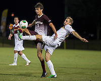 The Winthrop University Eagles played the College of Charleston Cougars at Eagles Field in Rock Hill, SC.  College of Charleston broke the 1-1 tie with a goal in the 88th minute to win 2-1.  Tucker Coons (3), Max Hasenstab (18)
