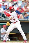 14 March 2007: St. Louis Cardinals outfielder Preston Wilson in the action against the Washington Nationals at Roger Dean Stadium in Jupiter, Florida...Mandatory Photo Credit: Ed Wolfstein Photo