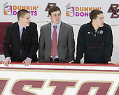 - The Boston College Eagles defeated the visiting Dartmouth College Big Green 6-3 (EN) on Saturday, November 24, 2012, at Kelley Rink in Conte Forum in Chestnut Hill, Massachusetts.