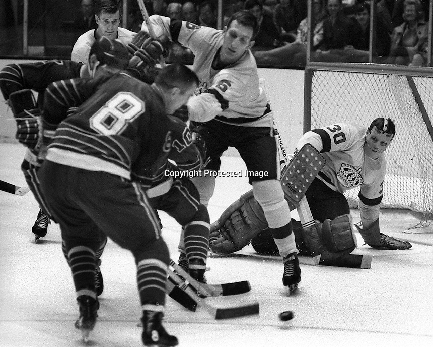 California Golden Seals vs the Los Angeles Kings..<br />