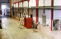 Fermentation tanks. Domaine Tracot Dubost, Beaujolais, France