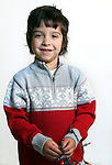 WATERBURY CT. 28 November 2016-112816SV01-Christmas Kid. <br /> Salvatore Pirozzoli, 4, Waterbury<br /> Steven Valenti Republican-American