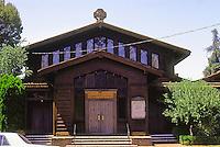 Julia Morgan: St. John's Presbyterian Church, Berkeley, 1910. Photo '76.