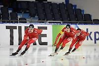 SCHAATSEN: HEERENVEEN: 09-12-2016, IJsstadion Thialf, ISU World Cup, Team Norge, ©foto Martin de Jong