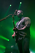BLOC PARTY - Kele Okereke - performing live at the Roundhouse in London UK - 11 Fen 2017.  Photo credit: Zaine Lewis/IconicPix