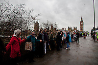 """07.03.2012 - """"Kill The Bill, Save Our NHS"""" Demonstrations"""