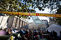 22.10.2011 - Occupy LSX - Second camp: Finsbury Square