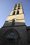 St Michel des Lions Church,  Limoges, Haute Vienne, France