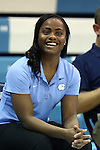 05 November 2014: UNC assistant coach Ivory Latta. The University of North Carolina Tar Heels hosted the Carson-Newman University Eagles at Carmichael Arena in Chapel Hill, North Carolina in an NCAA Women's Basketball exhibition game. UNC won the game 88-27.