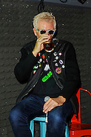 LONDON, ENGLAND - OCTOBER 22: Captain Sensible of 'The Damned' attending a Q and A session at the Hope and Anchor, Islington on October 22, 2016 in London, England.<br /> CAP/MAR<br /> &copy;MAR/Capital Pictures /MediaPunch ***NORTH AND SOUTH AMERICAS ONLY***